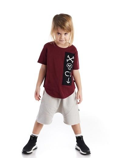 Colorinas Baggy Shorts Taş
